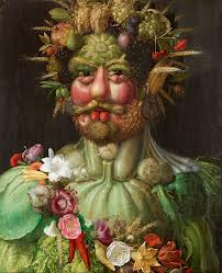 Arcimboldo- Rudolf II of the Hapsburgs as Vertumnus