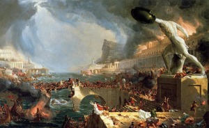 Thomas Cole- The Course of Empire- Destruction