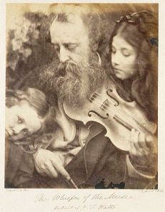 Julia Margaret Cameron- Whisper of the Muse-Portrait of GF Watts