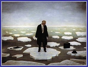 Teun Hooks Untitled- Man on Ice