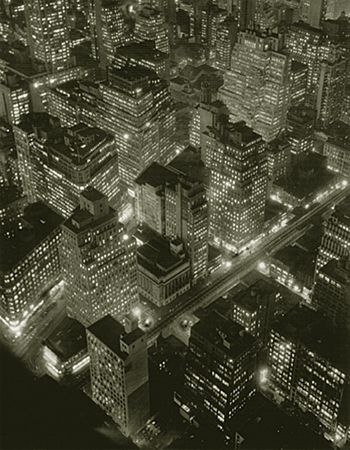 Berenice Abbott- Nightview_ New York 1934