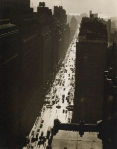 Berenice Abbott Seventh Avenue Looking South from 35th Street 1935