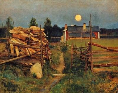 Jarenfelt- Kesäyön Kuu 1889