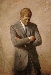 Aaron Shikler-  John F Kennedy -Official Portrait
