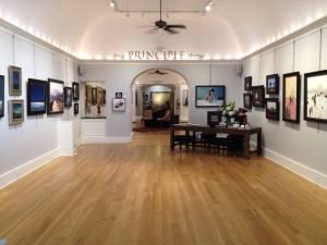 Principle Gallery Charleston interior Nov 2013