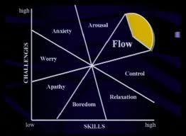 Flow Chart--mihaly csikszentmihalyi