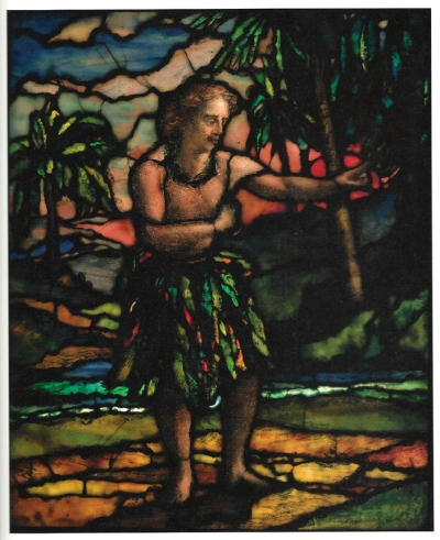 John LaFarge- Samoan Dancing a Standing Siva 1909