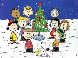 Peanuts Gang from A Charlie Brown Christmas - Chas Schulz