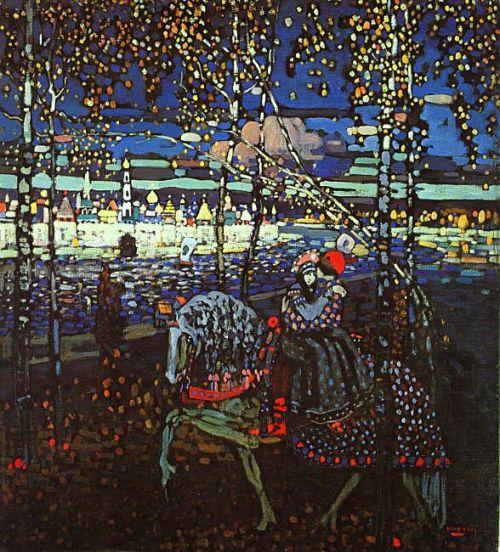 Wassily Kandinsky- Couple Riding   1906