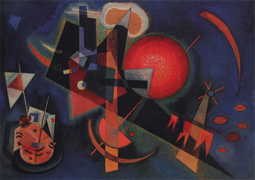 Wassily Kandinsky- In Blue  1925  1923