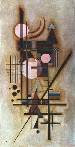 Wassily Kandinsky  -Softened Construction 1927     1925