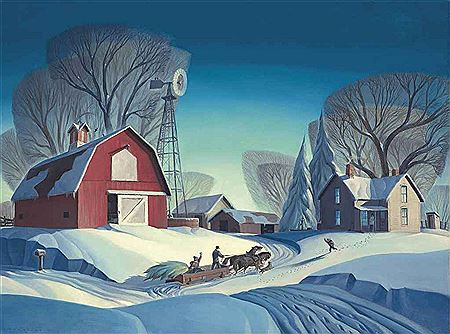 Dale Nichols- Bringing Home the Tree