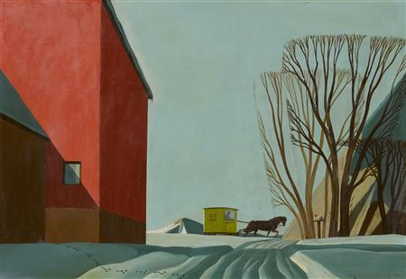 Dale Nichols- Mail Delivery  1950