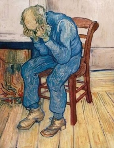 Van Gogh-- Sorrowing Old Man 1890