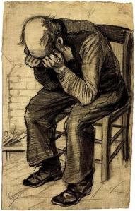 Van Gogh-- Worn-Out-- Drawing  1881-2