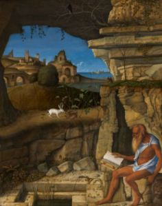 """Bellini's """"Saint Jerome Reading"""" at the National Gallery, DC"""
