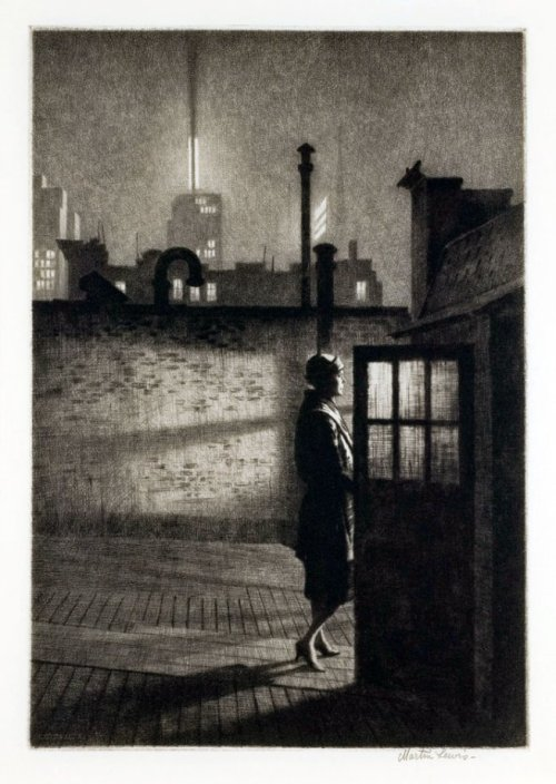 Martin Lewis- Little Penthouse