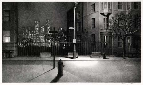 Martin Lewis New York Nocturne