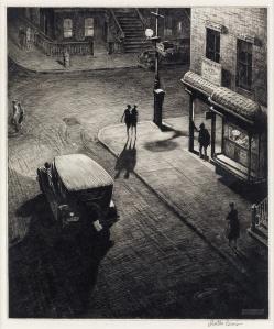 Martin Lewis- Relics (Speakeasy Corner) 1928