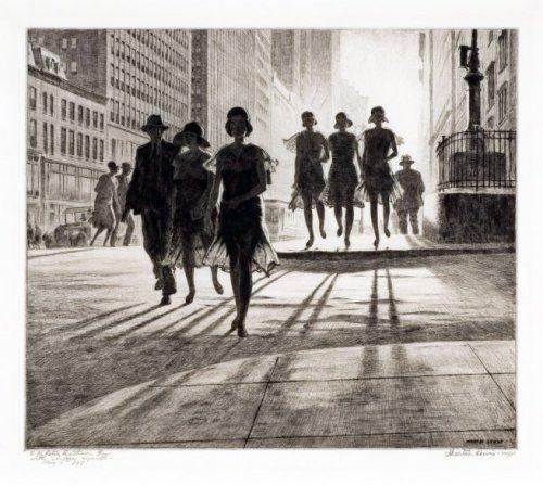 Martin Lewis- Shadow Dance 1930
