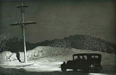 Martin Lewis - Which Way 1932