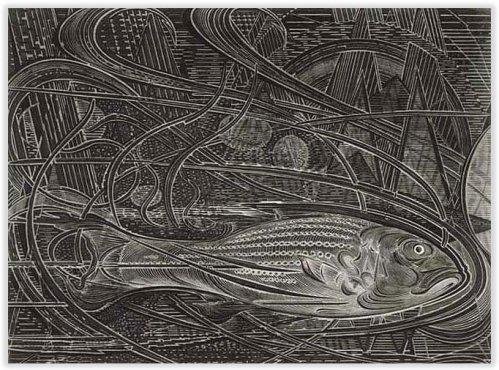 Armin Landeck Fish 1963