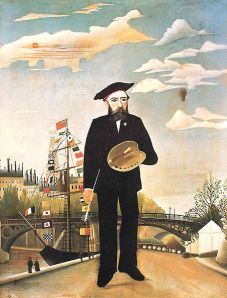Henri Rousseau- Self Portrait -1890