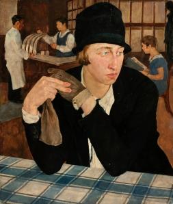 Lotte Laserstein- In Gasthaus ( In the Restaurant)