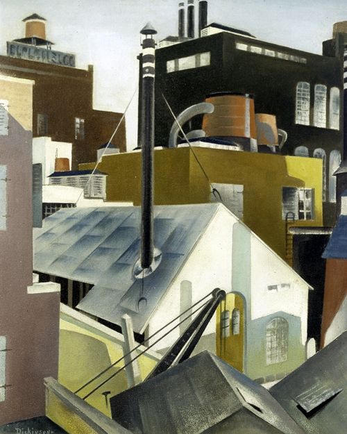 Preston_Dickinson - Industry 1923- The Whitney Collection