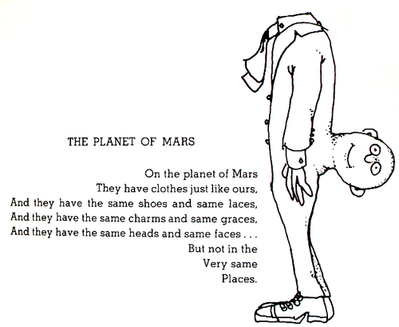 Shel Silverstein The Planet of Mars