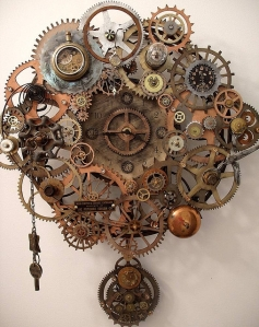 Steampunk Breathe Pendulum Clock- Erin Keck