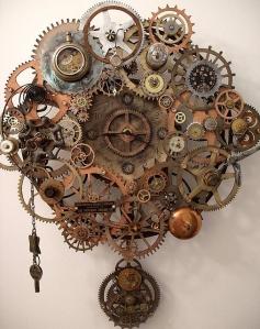 Steampunk Breathe Pendulum Clock- Erin Keck