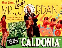 Louis Jordan Caldonia Lobby Card