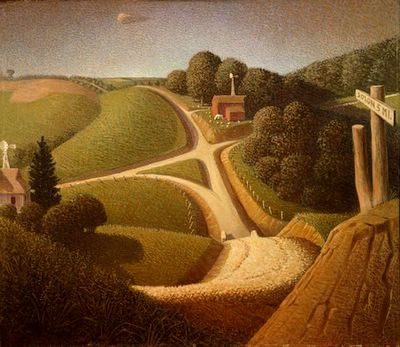 Grant Wood New Road