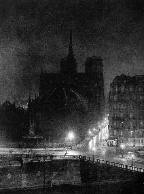 Brassai Notre Dame