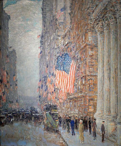 Childe Hassam-Flags_on_the_Waldorf- Amon_Carter_Museum