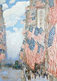 Childe Hassam Fourth of July 1916