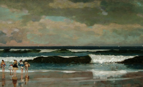 Winslow Homer- On the bEach