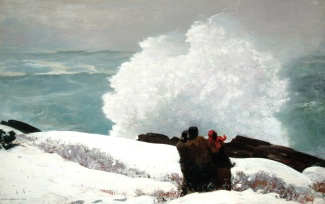 Winslow Homer- Watching the Breakers