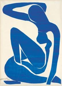 Matisse Blue Nude cut ou 2t