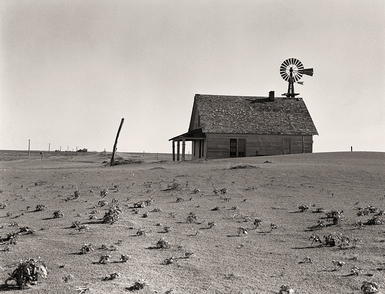 Dorothea Lange Dust Bowl Farm Dalhart Texas