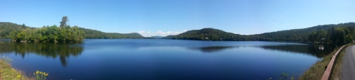 North Lake, NY -View from the dam