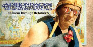 View Arts Center- Adirondack National 2014 Will Bullas Painting