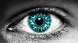 Green Eye Closeup