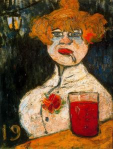 Maurice de Vlaminck At the Bar 1900
