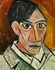 Pablo Picasso- Self Portrait 1907