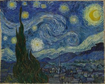 Van Gogh The Starry Night 1889 MOMA