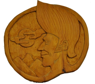 GC Myers- Hank Carving