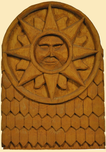 GC Myers Sun Carving