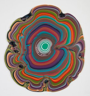 Holton Rower Pour Painting